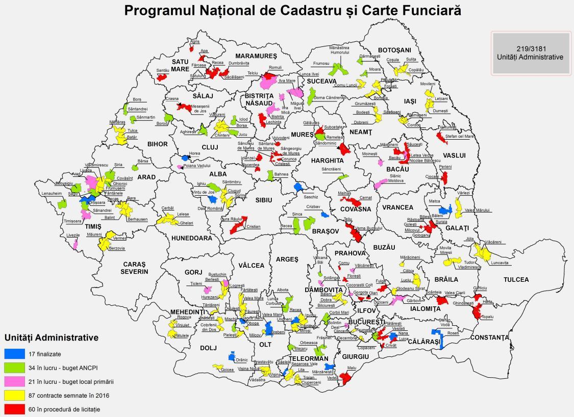 Programul Naţional De Cadastru Si Carte Funciară 2015 2023